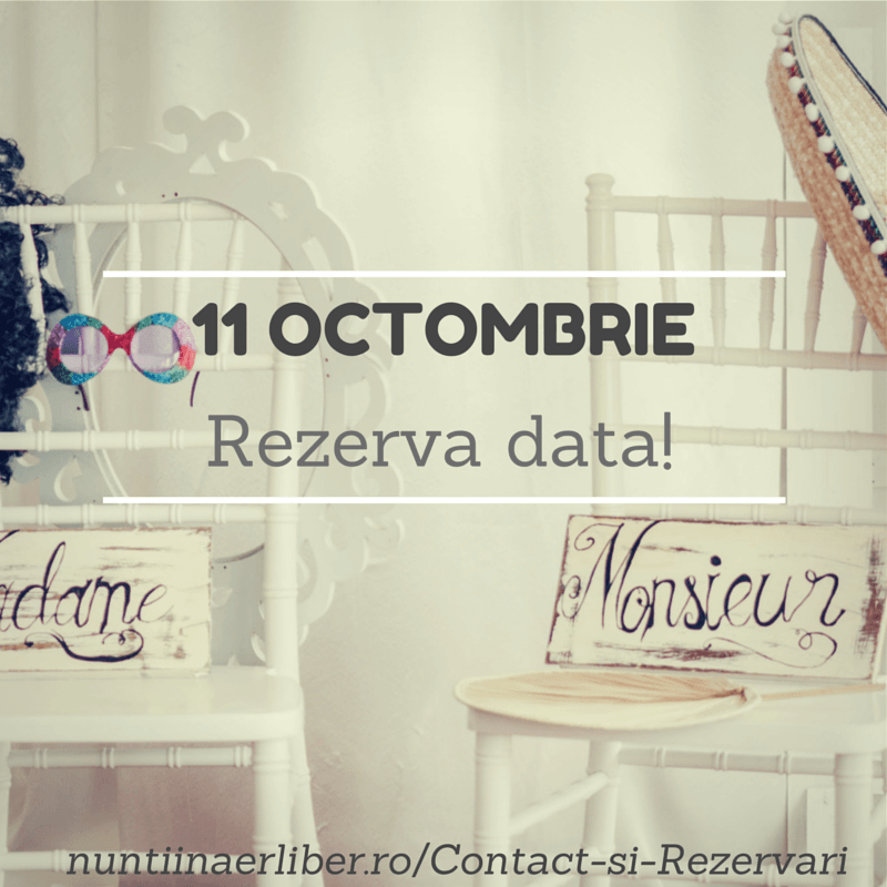 Rezerva data 11 Octombrie_I Do Weddings-nuntiinaerliber.ro