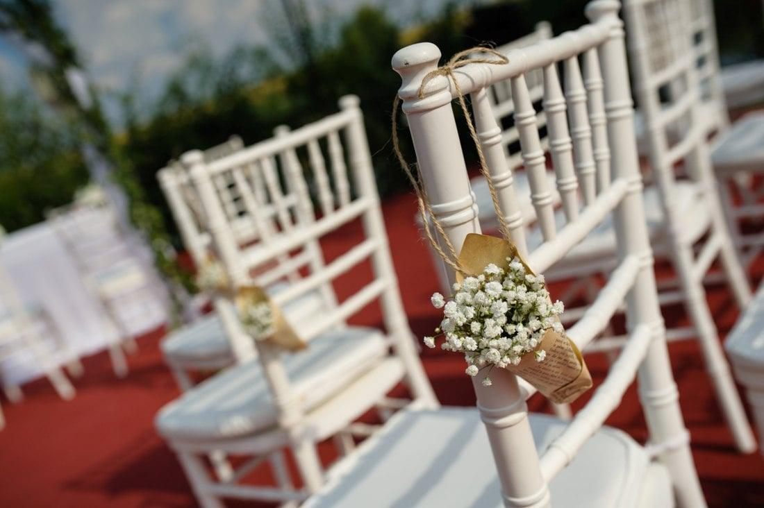 Decoratiune scaun Nunta Levantica Mint Lila Andreea si Lucian