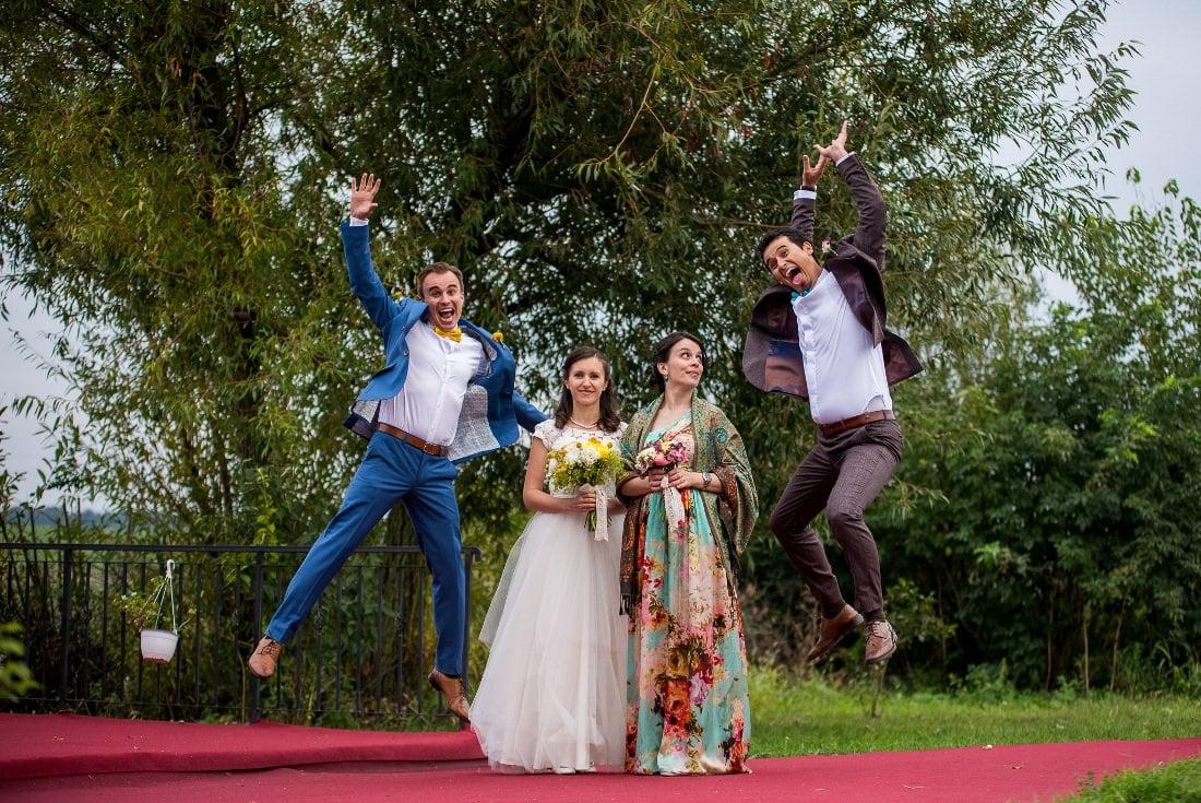 Nunta cu prieteni Iulia & Bogdan ponton