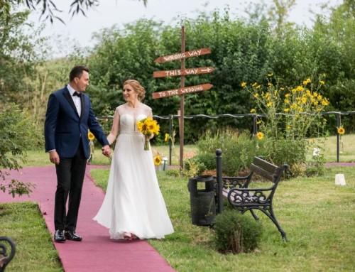 Nunta in culori pastel si cu floarea soarelui – Mihaela si Florin