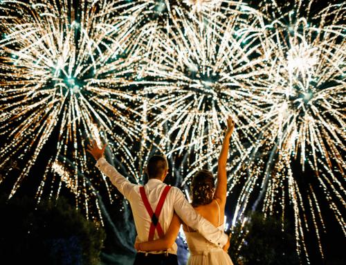 Nunta cu obiecte mestesugite si artificii – Alexandra si Marcel