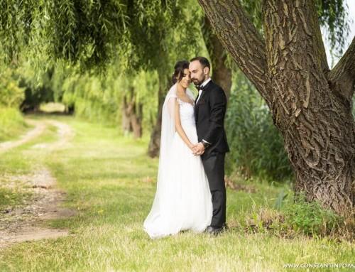 Nunta cu floarea soarelui, grau si musetel – Monica si Mihai