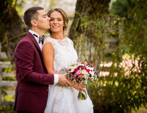 Nunta cu flori si prajituri – Flavia si Cristian